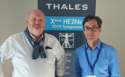 Sylvain Hourlier (THALES) and Alain Pagani (DFKI)